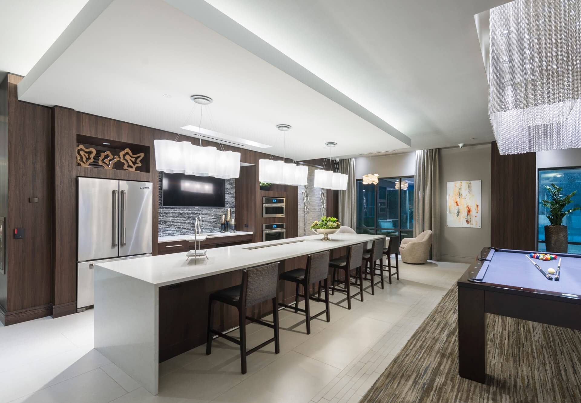 Entertain your guests in our full-size chef's kitchen